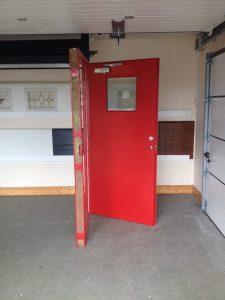 Personnel/Exit Doors